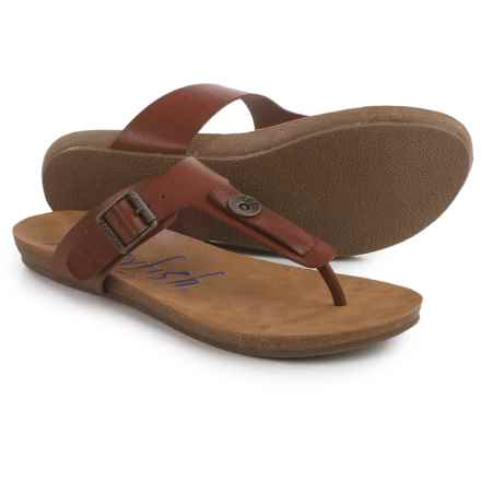Blowfish Greco Thong Sandals (For Women) in Scotch Pisa - Closeouts