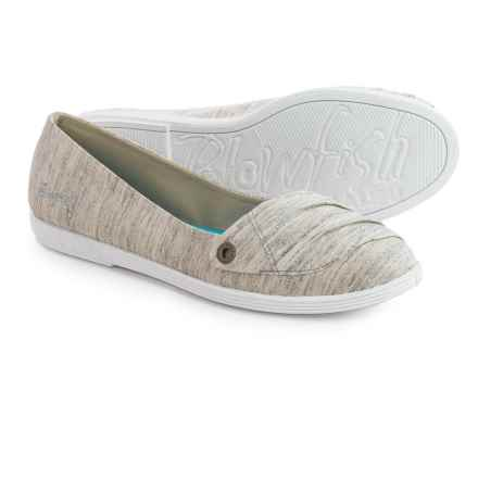 Blowfish Groupa Flats (For Women) in Grey Jersey - Closeouts