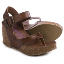 Blowfish Hiram Wedge Sandals (For Women) in Whiskey - Closeouts