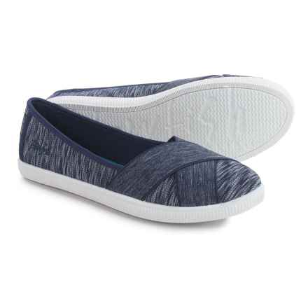 Blowfish Jaice Flats (For Women) in Navy Horizontal - Closeouts