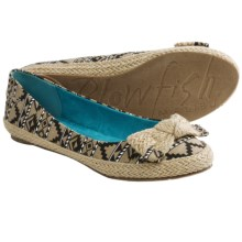 Blowfish Nagoa Flats (For Women) in Natural Indian Blanket - Closeouts