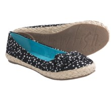 Blowfish Priscilla Flats (For Women) in Black Tiny Dots - Closeouts