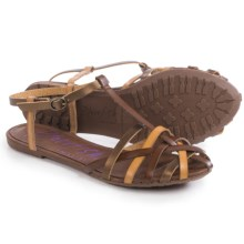 Blowfish Roobie Sandals (For Women) in Sand/Bronze - Closeouts
