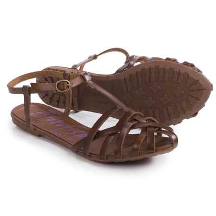 Blowfish Roobie Sandals (For Women) in Whiskey - Closeouts