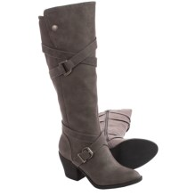 Blowfish Snaps Boots (For Women) in Grey Texas - Closeouts