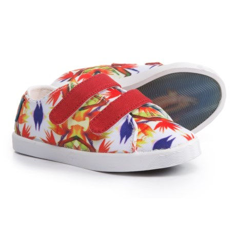 Blu Kicks Paradise Canvas Sneakers (For Infants and Toddlers) in Floral