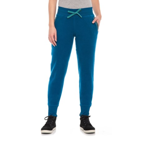 Image of Blue Abyss Revival Fleece Pants (For Women)