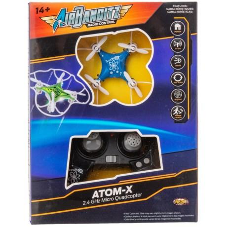Image of Blue Atom-X Micro Quadcopter - 2.4 GHz