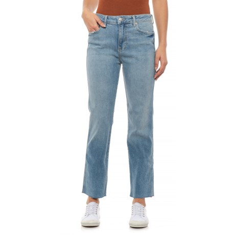 Image of Blue Clean Girlfriend Jeans (For Women)