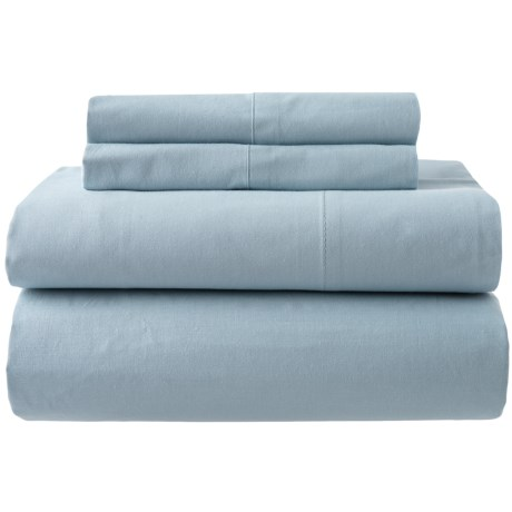 Image of Blue Fog Organic Cotton Sheet Set - Full, 200 TC