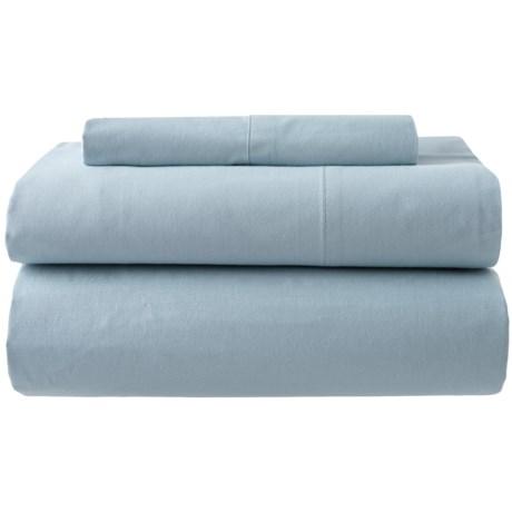 Image of Blue Fog Organic Cotton Sheet Set - Twin, 200 TC