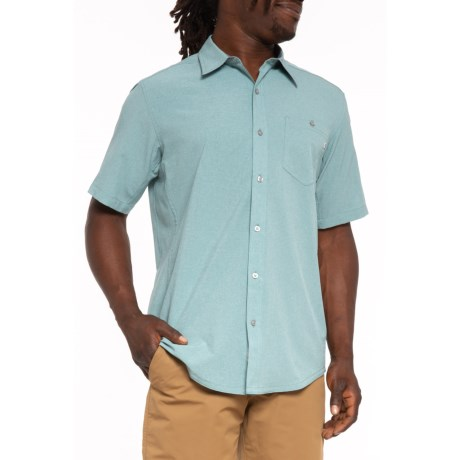 Image of Blue Granite Windshear Shirt - UPF 20, Short Sleeve (For Men)