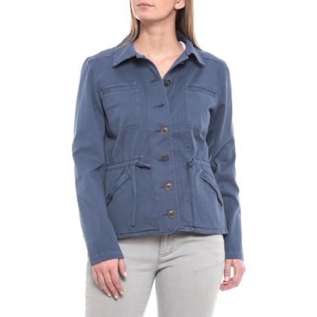 Image of Blue Indigo Tara Jacket - Organic Cotton (For Women)