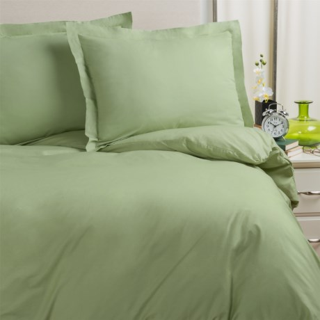 Blue Ridge Home Cotton Oversized Duvet Set Queen, 230 TC