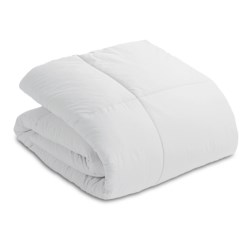 Blue Ridge Home Fashions Down Alternative Comforter - 233 TC Cotton, King in White