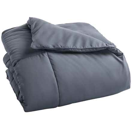 Blue Ridge Home Fashions Down Alternative Comforter - Queen in Smoke Blue - Overstock