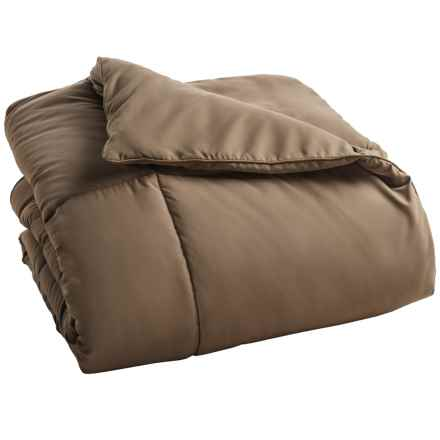 Blue Ridge Home Fashions Down Alternative Comforter - Twin in Taupe - Overstock