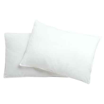 Blue Ridge Home Fashions Down Alternative Jumbo Pillow - 300 TC, 2-Pack in White - Overstock