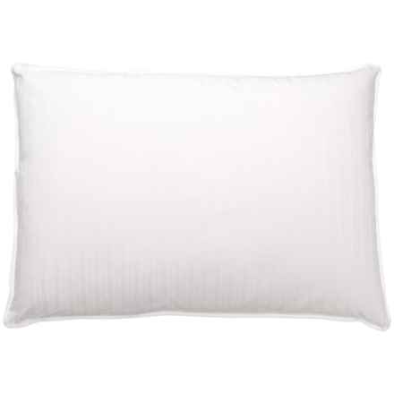 Blue Ridge Home Fashions Down and Feather Pillow - Jumbo, 400 TC in White - Closeouts