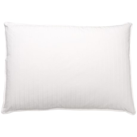 Blue Ridge Home Fashions Down and Feather Pillow - Jumbo, 400 TC in White