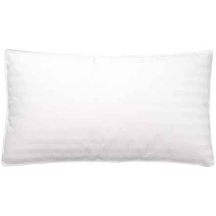 Blue Ridge Home Fashions Goose Down and Feather Pillow - King, 400 TC in White - Closeouts