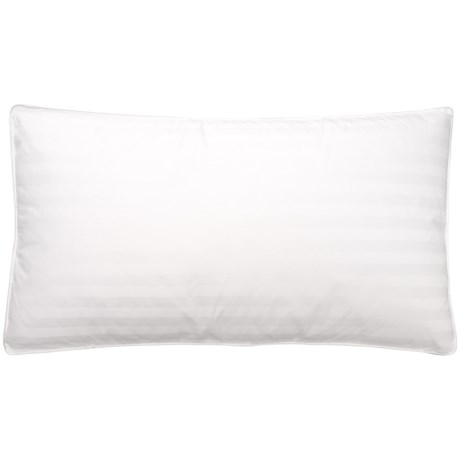 Blue Ridge Home Fashions Goose Down and Feather Pillow - King, 400 TC in White