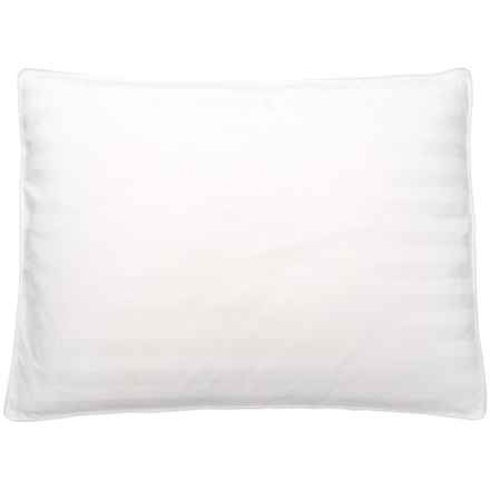 Blue Ridge Home Fashions Goose Down and Feather Pillow - Standard, 400 TC in White - Closeouts