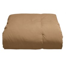 Blue Ridge Home Fashions Microfiber Down Throw Blanket in Camel - Overstock