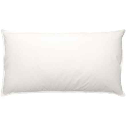 Blue Ridge Home Fashions Natural Blend Pillow - King, 233 TC in White - Closeouts