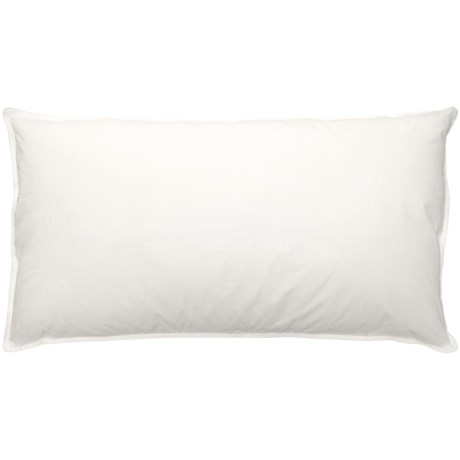Blue Ridge Home Fashions Natural Blend Pillow - King, 233 TC in White