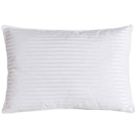 Blue Ridge Home Fashions Pinnacle Back Sleeper Down Pillow - Queen, 500 TC in White - Closeouts