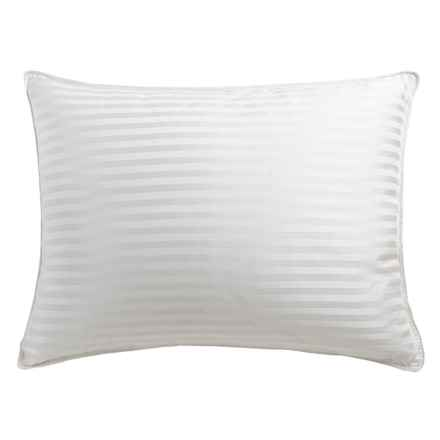 Blue Ridge Home Fashions Pinnacle Luxury Back Sleeper Down Pillow - Standard in White - Closeouts