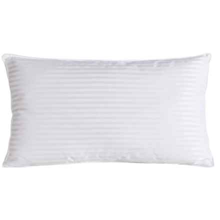 Blue Ridge Home Fashions Pinnacle Luxury Side Sleeper Down Pillow - King, 500 TC in White - Closeouts