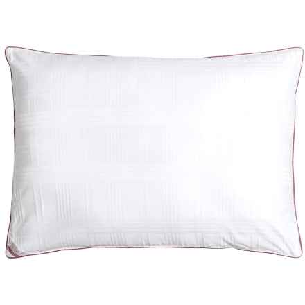 Blue Ridge Home Fashions Windowpane Down Alternative Pillow - Jumbo, 500 TC in White - Closeouts