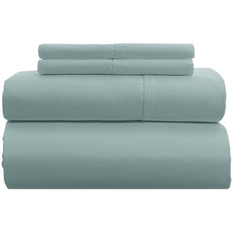 Image of Blue TENCEL(R) Sheet Set with Extra-Deep Pockets - Queen, 600 TC