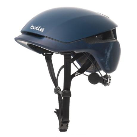 Image of Blue Wash Messenger Standard Bike Helmet (For Men and Women)