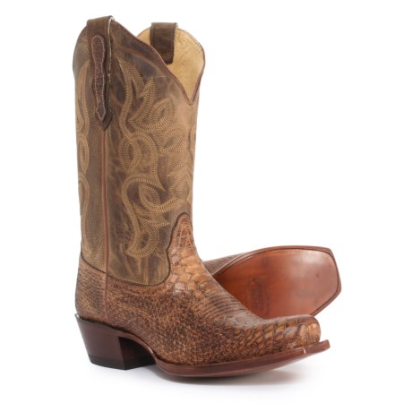 Image of Bluebonnet Cowboy Boots - 11? Square Toe (For Women)