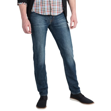 Bluer Denim M1 Slim Taper Jeans Slim Fit, Tapered Leg (For Men)