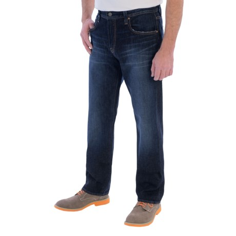 Bluer Denim M18 Loose Straight Jeans (For Men)
