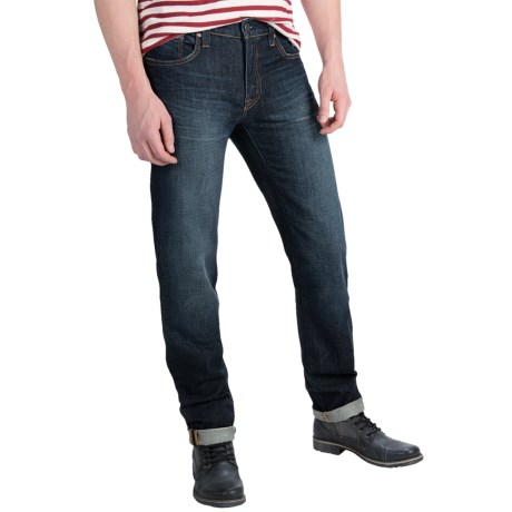 Bluer Denim M7 Slim Straight Jeans Slim Fit, Straight Leg (For Men)