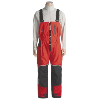 Bluestorm Latitude 48 Bib Overalls - Waterproof (For Men) in Red