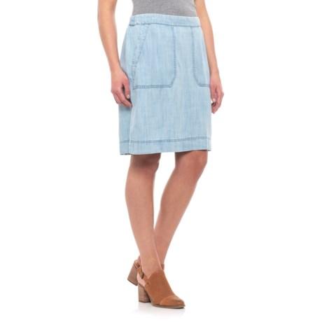 Image of Bluewash Candice Skirt - TENCEL(R)(For Women)