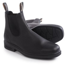 Blundstone 063 Pull-On Boots - Leather, Factory 2nds (For Men and Women) in Black - 2nds