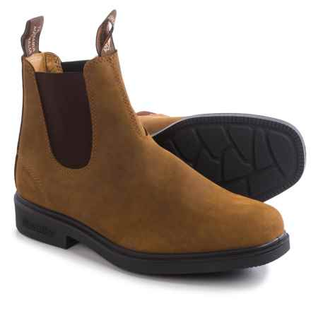 Blundstone 064 Pull-On Boots - Leather, Factory 2nds (For Men and Women) in Crazy Horse - 2nds