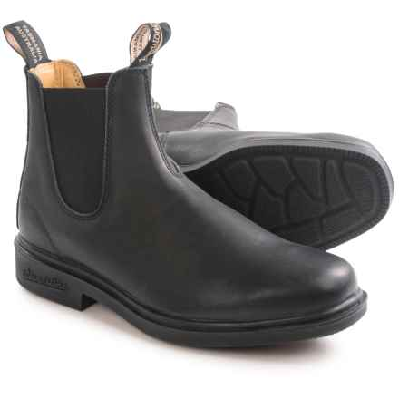 Blundstone 068 Pull-On Boots - Factory 2nds (For Men and Women) in Black - 2nds