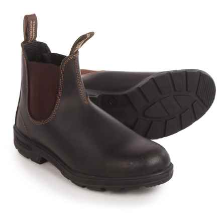 Blundstone 068 Pull-On Boots - Factory 2nds (For Men and Women) in Brown - 2nds