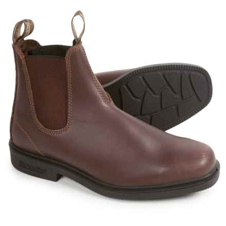 Blundstone 068 Pull-On Boots - Factory 2nds (For Men and Women) in Walnut - 2nds