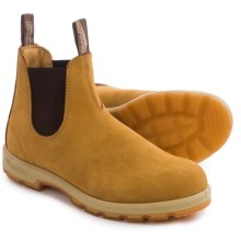 Blundstone 1318 Pull-On Boots - Leather, Factory 2nds (For Men and Women) in Wheat/Gum - 2nds