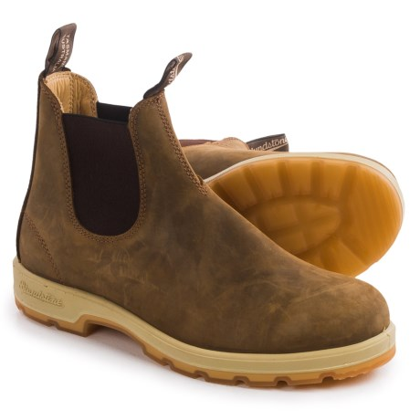 Blundstone 1320 Pull-On Boots - Leather, Factory 2nds (For Men and Women) in Crazy Horse