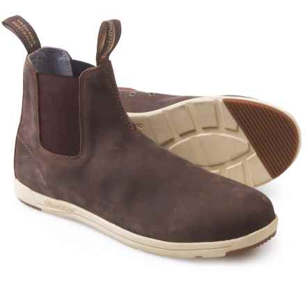 Blundstone 1431 Pull-On Boots -  Leather, Factory 2nds (For Men and Women) in Brown - 2nds